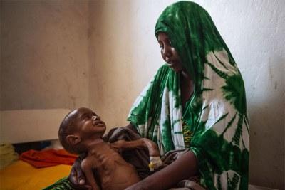 Plus d'un million d'enfants sont menacés de malnutrition aiguë cette année en Somalie, pays au bord de la famine, et courent des risques très élevés de mourir, a averti mardi le Fonds des Nations unies pour l'enfance (UNICEF).