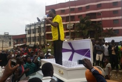 Anglophone activist Mancho Bibixy.