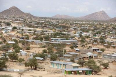 Lokichar trading centre in Turkana (file photo).