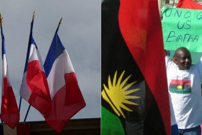 France was reportedly involved in Biafra's breakaway bid.