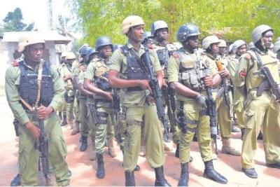Tanzanian police (file photo).