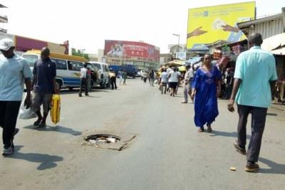 Street in Bujumbura