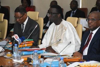 Session Ordinaire du Conseil des Ministres de l'UEMOA, Dakar le 30 Juin 2017.