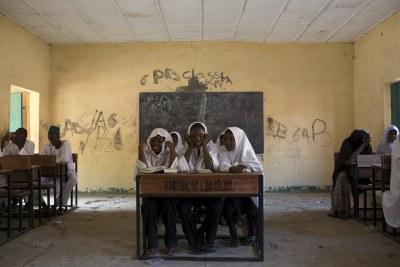 Nigerian children.