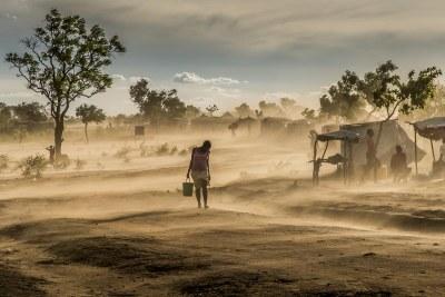 A south Sudan refugee in uganda
