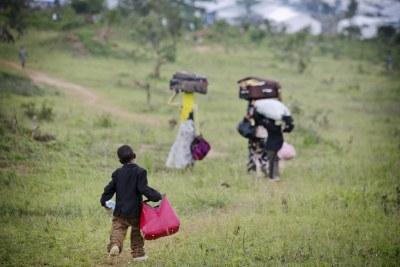 Des milliers de personnes ont fui le Burundi à cause de la violence et sont arrivées dans le camp de Mahama, au Rwanda