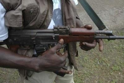 Gunman (file photo).