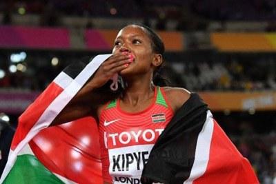 Londres 2017: La Kenyane Kipyegon sacrée sur 1500 M