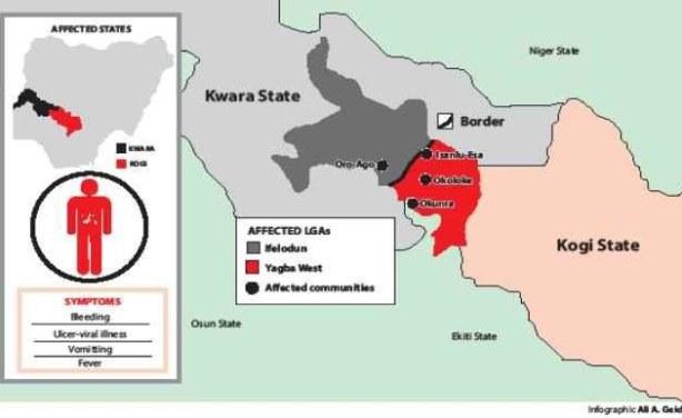 Deadly Disease in Kogi Identified - allAfrica.com on adamawa state map, oyo state map, niger state, akwa ibom, ekiti state, bayelsa state map, ekiti state map, edo state map, ondo state, ogun state, osun state map, benue state map, osun state, kaduna state, katsina state map, cross river state, lagos state, alabama state map, taraba state, benue state, ebonyi state map, imo state map, amazonas state map, abia state map, jharkhand state map, imo state, oyo state, kwara state map, anambra state, edo state, ogun state map, california state map, rivers state, delta state, abia state, lagos state map, enugu state, kano state, borno state map, anambra state map,