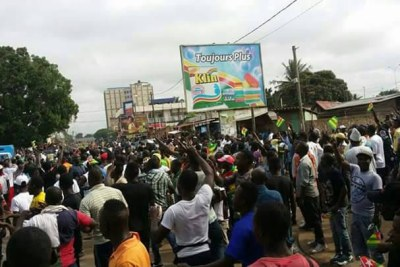 Opposition Protest in Togo