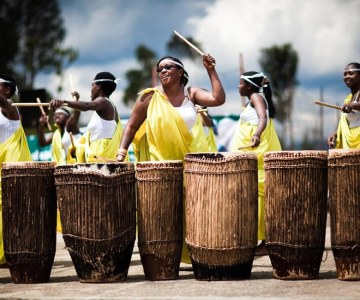 Rwandan Women Drumming Their Way to Prosperity