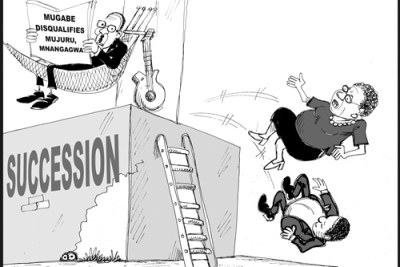 The battle to succeed the 93-year-old President Mugabe intensifies.