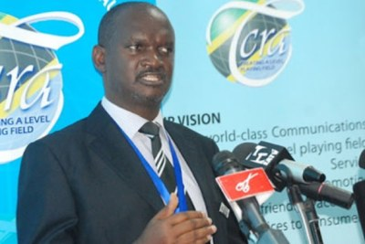 TCRA director general James Kilaba