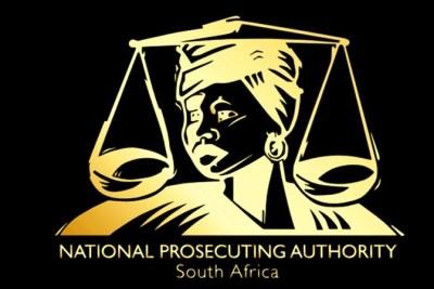 Logo of the National Prosecuting Authority.