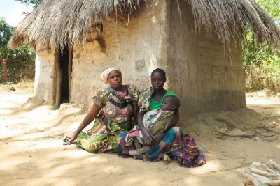 Ruth Mwitwa (left) and Gloria Kango were convicted of criminal trespass for being on land they have lived and farmed for decades, and now belongs to a commercial farmer. They were sentenced to three months' imprisonment and were detained with their breastfeeding children. Gloria was also four months pregnant during her detention.