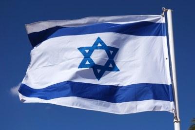 Le drapeau Israelien.