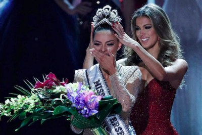 South Africa, thank you for support and love throughout my #MissUniverse journey. I may be the new Miss Universe but I will always be your Miss South Africa - we did it! - Demi Leigh.