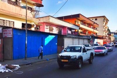 Libreville, capitale gabonaise.