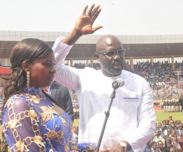 The Inauguration of Soccer Legend George Weah as the 24th President of Liberia