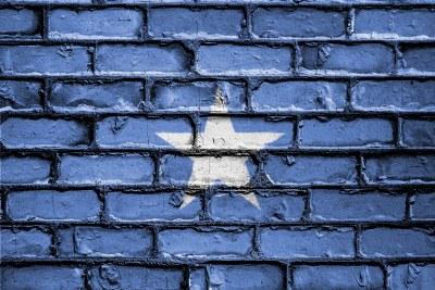 Somali flag.