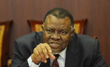 Namibia Opposition Ponders Motion to Impeach Geingob