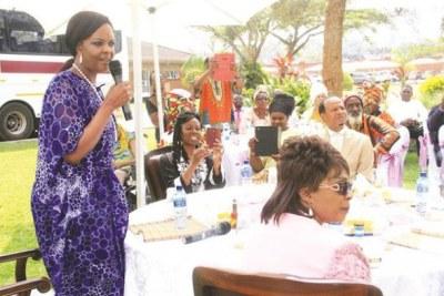 Former first lady Grace Mugabe (file photo).