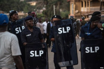 Sierra Leone Police (file photo).