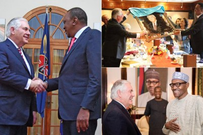 Tillerson in Africa.