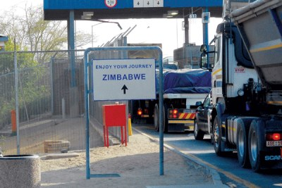 Beitbridge Border Post.