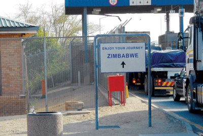 Beitbridge Border Post between South Africa and Zimbabwe (file photo).