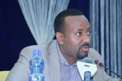 Abiy Ahmed before he became the first Oromo Prime Minister of the EPRDF's 27-year rule.