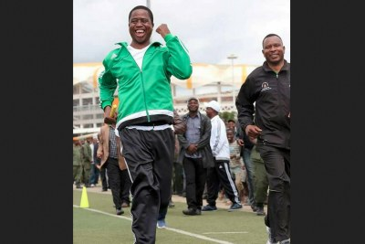 President Edgar Lungu (file photo).