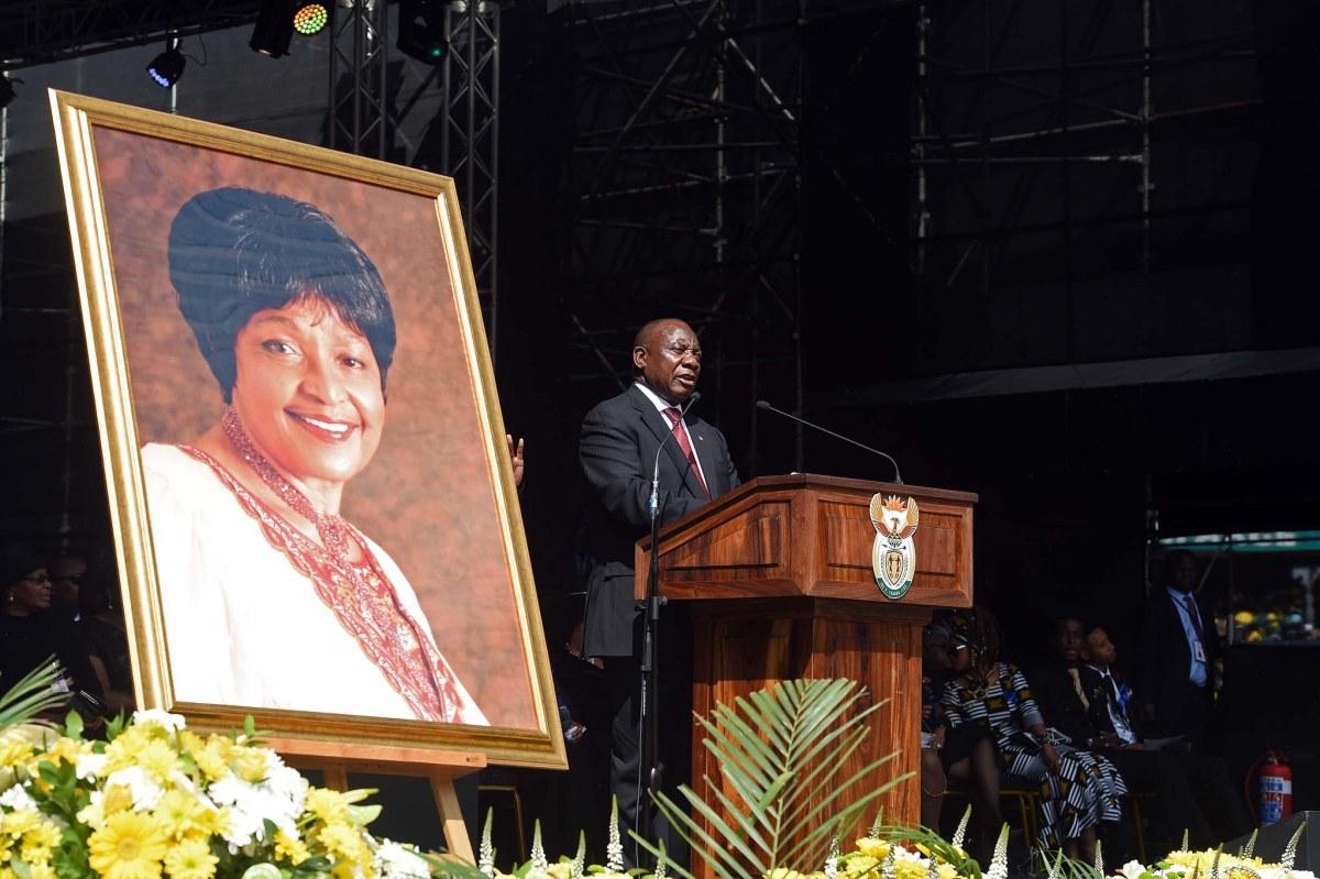 PhotoEssay » South Africa Bids Farewell to Mama Winnie
