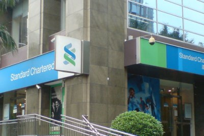 300 people lost their jobs after StanChart moved some of its back-end operations to India.