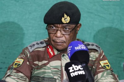 Vice President Constantino Chiwenga (file photo).