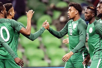 Super Eagles (file photo)