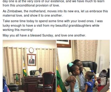 Zimbabwe President's Extravagant Briefcase Sets Twitter Ablaze