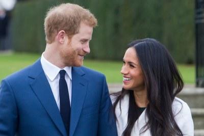Prince Harry and Meghan Markle (file photo).