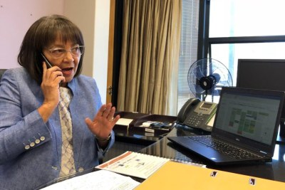 Mayor of Cape Town Patricia de Lille is (file photo).