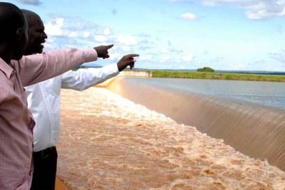 Masinga Dam.