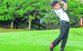 Eight-Year-Old Golf Prodigy Heads to U.S. for World Champs
