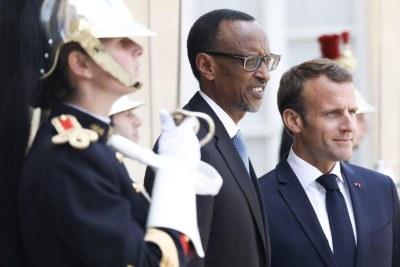 Visite officielle en France de Paul Kagame, Président du Rwanda.