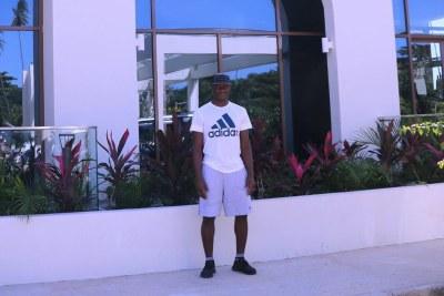 Victor Wanyama is currently holidaying in Zanzibar.