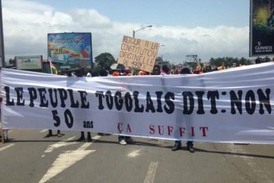Manifestation au Togo