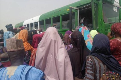 Returnees Make Their Way Home to Borno State