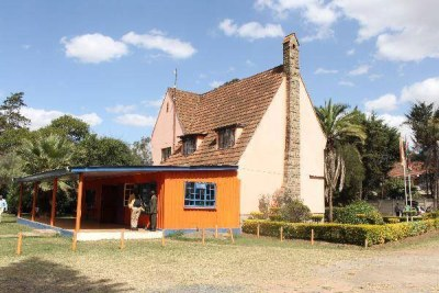 The Orange House on Menelik Road in Nairobi.