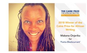 Kenyan Writer Makena Onjerika Wins Prestigious Literary Award
