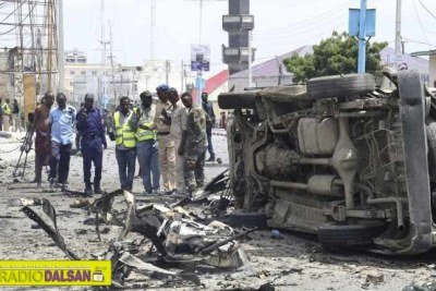 13 Killed 40 injured In Interior Ministry Al-shabaab Attack.