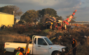 Plane Seen Trailing Smoke Before Deadly Crash in South Africa