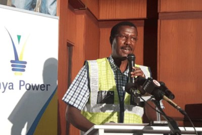 Former Kenya Power boss Ben Chumo (file photo).